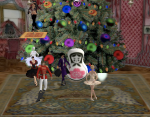 """The avatar in the digital version of The Nutcracker transformed from a toy nutcracker to a """"life size"""" man and back.  A feat lending itself easily to the virtual setting."""