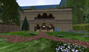 The new Iste facility will be adjacent to the Virtual Pioneers Headquarters on Eduisland in Second LIfe.